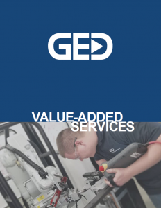 Value-added services brochure cover