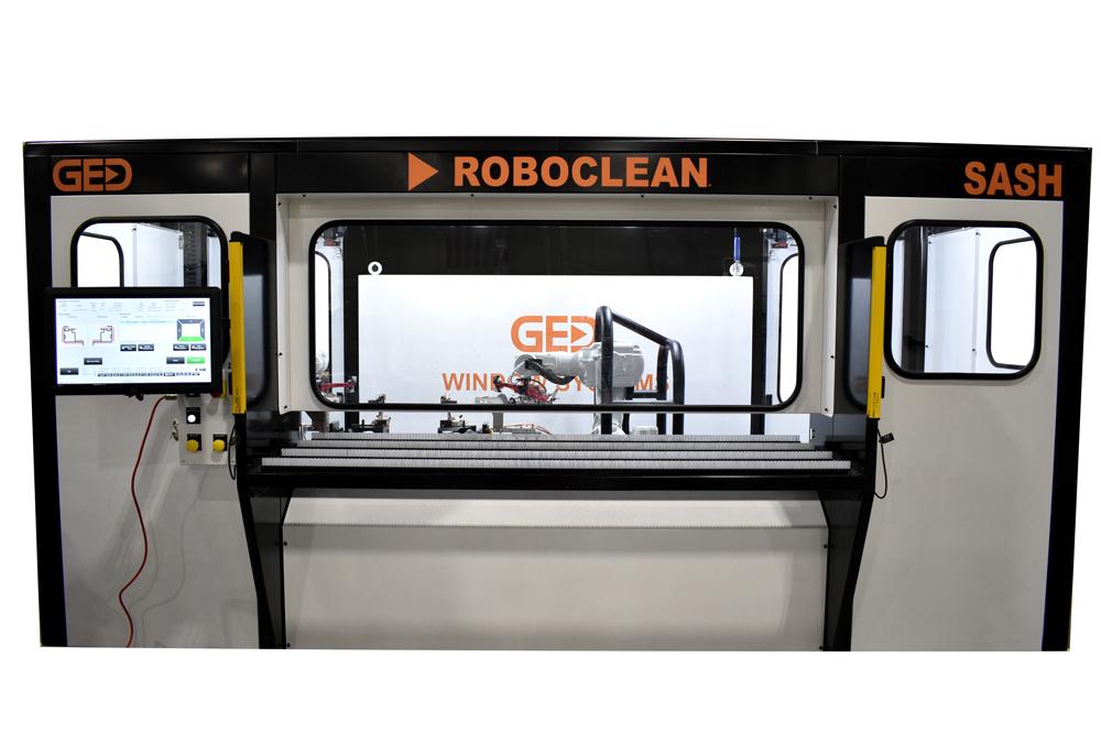 RoboClean Sash full machine